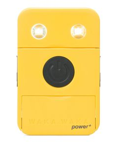 The wakawaka power + is both a solar LED light or lantern and also a mobile phone charger for Nokia, iphone and most others, very bright and incredibly rugged. Solar Energy System, Solar Power, Solar Led Lights, Lighting Companies, Solar Charger, Flashlight, Gifts, Amazon, Yellow
