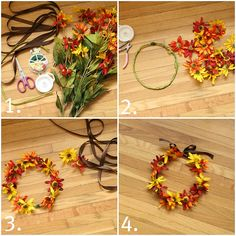 images about Flower Crowns  Head-Dress Fall