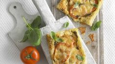 Annabel Karmel's puff pastry pizzas - Tesco Loves Baby