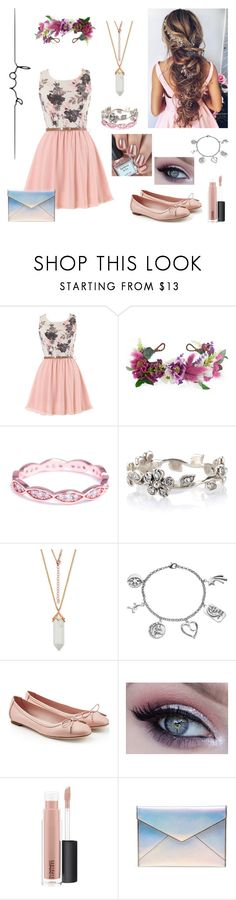"""""""Modern Day Rapunzel"""" by peace4ak ❤ liked on Polyvore featuring Rock 'N Rose, Evie & Emma, Accessorize, Love This Life, Salvatore Ferragamo, MAC Cosmetics, Rebecca Minkoff and modern"""