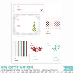 Printable Christmas Freebies! | MissTiina.com {Blog}