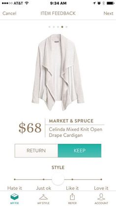 Mixed knit open cardigan