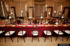 Harry Potter-themed wedding. More photos at When Geeks Wed.