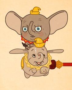 #Disney Attractions - Dumbo Ride