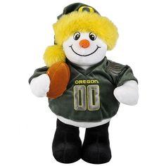 Oregon Ducks Snowman Plush $34.99