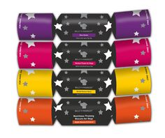 Billy + Margot dog Christmas cracker packaging by PosAbilities Christmas Dog, Xmas, Silver Hats, Pet Parade, Christmas Crackers, Venison, Packaging Design, Branding, Pet Food