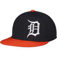 f7bf77faa91 Youth Detroit Tigers Under Armour Black Big Logo Snapback Adjustable Hat