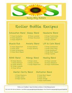 Young Living Essential Oils: Roller Bottle by Caroline Carbone Herrmann