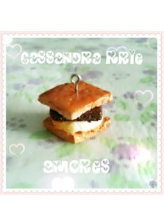 polymer clay smore.