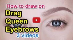 Squarespace - Claim This Domain Drag Queen Makeup, Drag Makeup, Learn To Draw, Eyebrows, Learning, Drawings, Blog, Learn Drawing, Eye Brows
