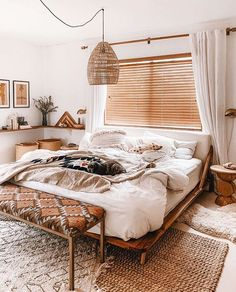 Bohemian Bedroom And Home Decoration Ideas Bohemian Bedroom An. - Bohemian Bedroom And Home Decoration Ideas Bohemian Bedroom And Home Decoration I - Trendy Bedroom, Cozy Bedroom, Modern Bedroom, Bedroom Wall, Bed Room, Bedroom Office, Minimalist Bedroom, Modern Bohemian Bedrooms, Layered Rugs Bedroom