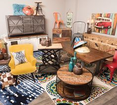 Take a step back in time with our incredible selection of vintage, retro, and industrial pieces. In stores and online: https://www.afwonline.com/furniture/home-decor/vintage-rustic-decor