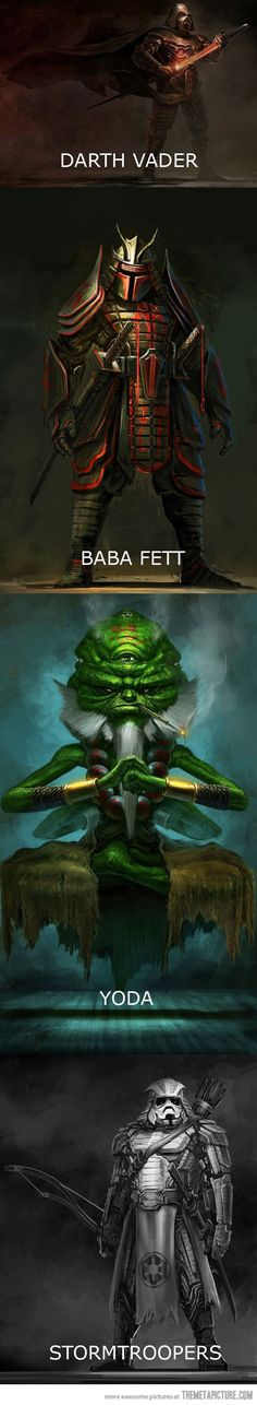 Mind Blown! | Star Wars Samurai! Awesome Amazing! | Follow here…