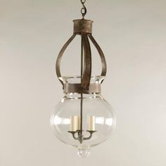 Vaughan Designs | Rustic Ceiling Globe