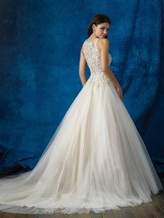 Bridal Gown Available at Ella Park Bridal   Newburgh, IN   812.853.1800   Allure Bridals - Style 9359
