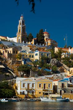 in broad daylight, Symi, Greece Tour or Cruise the Greek Islands Places Around The World, Oh The Places You'll Go, Travel Around The World, Great Places, Places To Travel, Beautiful Places, Places To Visit, Around The Worlds, Romantic Places