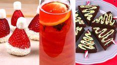 Transformez de simples recettes en véritable mets de Noël ! Composition, Mets, Panna Cotta, Ethnic Recipes, Biscuits, Drinks, Food, Noel, Travel