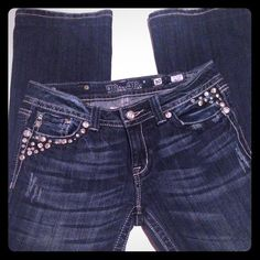 MISS ME size 30 MISS ME size 30. Great condition inseam 27 inches. Dark wash. Miss Me Jeans
