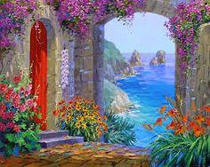 en güzel yağlı boya manzara tabloları ile ilgili görsel sonucu