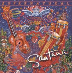 """Our friend Carlos Santana is at Blossom tonight on his Supernatural Now Tour, marking the anniversary of his """"Supernatural"""" album and the anniversary of his Woodstock performance. A few years after Woodstock, Santana played Public Hall. Cd Album Covers, Greatest Album Covers, Classic Album Covers, Music Covers, Lp Album, Cover Art, Cd Cover, Jimi Hendrix, Santana Albums"""