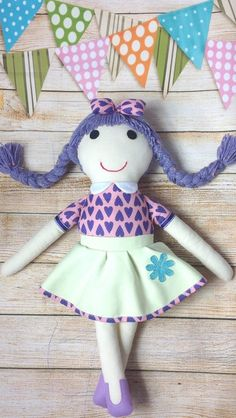 Soft Doll Fabric Doll Cloth Doll First Doll by Selling On Pinterest, Soft Dolls, Mild Soap, Fabric Dolls, Doll Clothes, Cotton Fabric, Felt, Play, Skirt