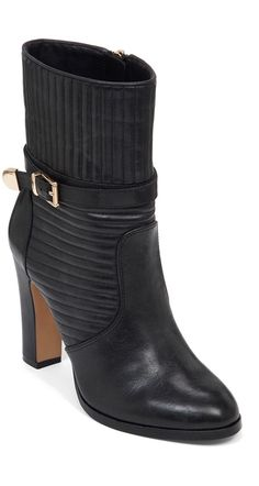 We love everything about these Vince Camuto boots, from the stitching to the buckle.
