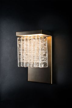 Murano glass wall light ICE By Veronese design Reda Amalou Luxury Lighting, Sconce Lighting, Cool Lighting, Lighting Design, Murano Glass, Glass Wall Lights, Unique Lamps, Wall Sconces, Wall Lamps