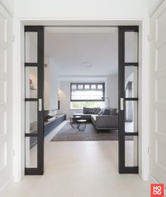 Oversized Mirror, Blinds, New Homes, Interior, House, Design, Furniture, Place, Home Decor