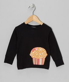 Take a look at this Black & Orange Cupcake Tee - Toddler & Kids by little bits on #zulily today!