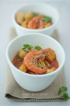 Sinfully Yummy Singaporean Prawn Laksa