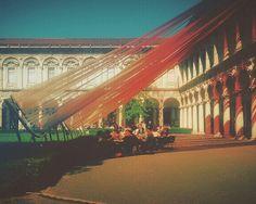 La #statalemilano durante l'ultimo salone del mobile  #designweek #fuorisalone #milano #milan #instamilano #instamilan #instaitalia #instaitaly #igersitalia #igersitaly #igersmilano #igersmilan #ig_Milano #ig_Milan #visitmilan #architecturelovers #architecture #milanocityofficial #milanodavedere #loves_Milano #university #citylife #urbanlife #students #colorful #light #installation #art #latergram by vivianedanglars