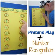 Ridiculously simple way to play pretend and learn some math at the same time! Pretend Play PLUS Number Recognition http://www.mymundaneandmiraculouslife.com/2014/08/pretend-play-plus-number-recognition.html