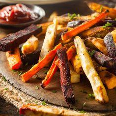 A legfinomabb zöldségköretek - Recept Recipe D, Fries Recipe, Hummus Recipe, Big Meals, Easy Meals, Duck Fat Fries, Veggie Fries, Game Day Food, Fried Potatoes