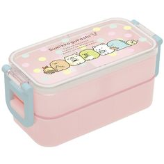 Amazon.com: San-X Corner Sumikko Gurashi Two Tier Bento Lunch Box... ($21) ❤ liked on Polyvore featuring home, kitchen & dining, food storage containers, bento lunchbox, two tier lunch box, bento lunch box and 2 tier lunch box