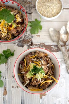 Slow Cooker Quinoa Chili   The Realistic Nutritionist