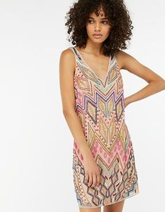 Luiza Embellished Tunic Dress - Monsoon