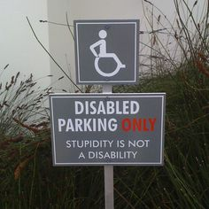 Disabilities...