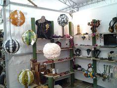 Expo ferias Manizales lamparas en capullos de seda