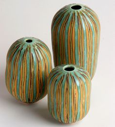 Cara Gilbert pottery at MudFire Gallery