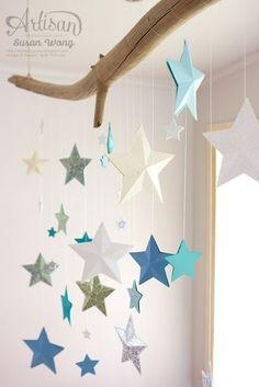 Bunte Sterne