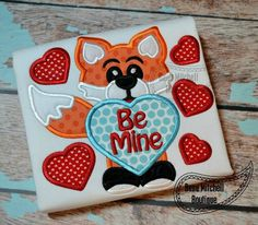 Fox Be Mine Boy Shirt or Onesie; Valentines Day by SugarStitchesDesigns on Etsy https://www.etsy.com/listing/217623937/fox-be-mine-boy-shirt-or-onesie