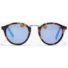 MADEWELL Indio Sunglasses ($45) ❤ liked on Polyvore featuring accessories, eyewear, sunglasses, glasses, retro style sunglasses, round lens glasses, rounded glasses, madewell and retro sunglasses