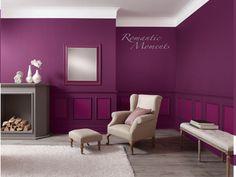 Romantic Moments - Mit dieser Wandfarbe garantiert! #wohnideen #wandfarbe