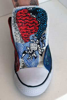 Carla Regina Mourisca; Sneakers;hand painted sneakers, handpainted sneakers, sneakers, slipon, keds, adidas, all star, vans, handpainted, women's shoes, man's shoes, trendy, sassy, clothes, fashion, woman, woman fashion, man fashion, teen fashion, illustration, art, pattern, apparel, pattern, skull, black, white, anatomy, vintage, objects, urban, pattern, subversive, ironic, candy, allure, dark, black, goth, night, collection, girl, fashion, fashion illustration,men-s fashion, women-s…