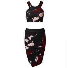 Junnie Bandage Two-Piece Dress