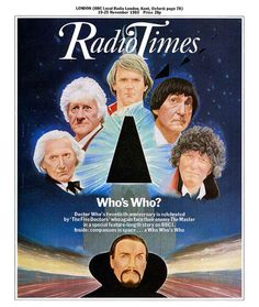Radio Times Cover 1983-11-19 Doctor Who by combomphotos, via Flickr