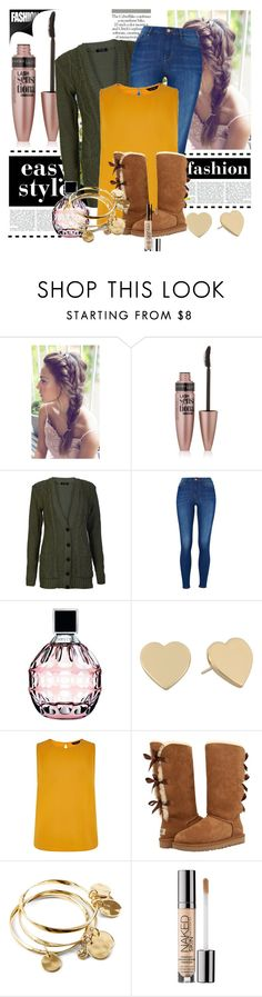 """""""School Outfits"""" by schooloutfits101 on Polyvore featuring Maybelline, Jimmy Choo, Kate Spade, UGG Australia, Vera Bradley, Urban Decay and livelaughlove"""