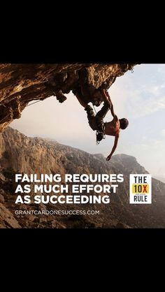 Grant Cardone: failing requires as much effort as succeeding #atlcomputerdude #atlcardonedude  #grantcardone  #grantcardonequotes  #10x