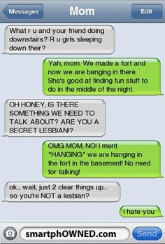 The Secret Lesbianツ #Humor #TextMessage #Funny_Text_Message
