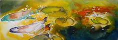 paintings of koi fish - Google Search